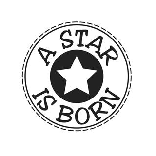 "Štampiljka ""A star is born"", 3cm"