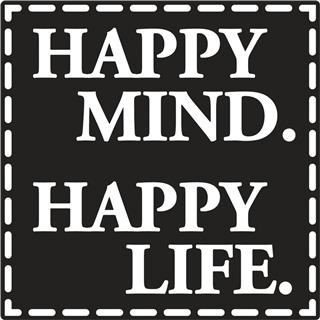"Odtisi za kalup: ""Happy mind"" D"
