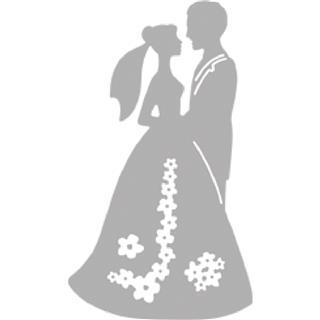 Rezultat iskanja slik za Rezalna šablona TinaB: Poročni par