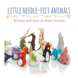 KNJIGA LITTLE NEEDLE FELT ANIMALS