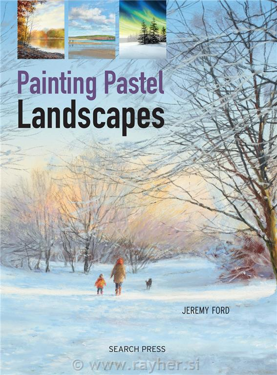 KNJIGA PAINTING PASTEL LANDSCAPES