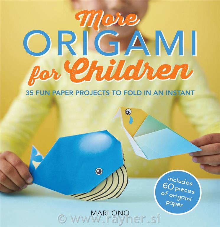 KNJIGA MORE ORIGAMI FOR CHILDREN