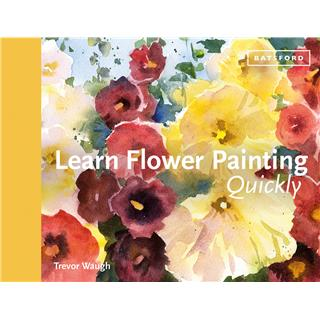 KNJIGA LEARN FLOWER PAINTING QUICKLY
