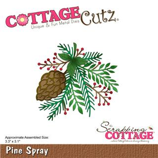 Šablona CottageCutz, Pine Spray