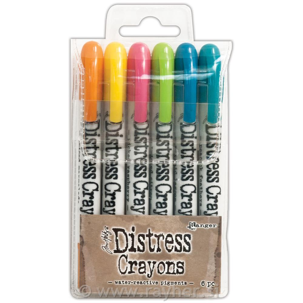"DISTRESS CRAYON, SET ""1"""