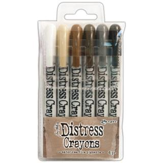 "DISTRESS CRAYON, SET ""3"""