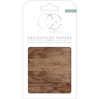 Decoupage papir, Cotsworld Cottage, 3 pole 35x40 cm, 23gsm