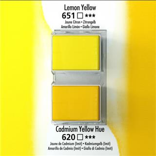 Akvarelna barva Aquafine set 2 lemon yellow/cad yellow hue