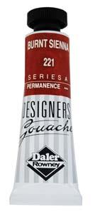 Designers Gouache 15ml Burnt Sienna