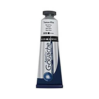 Aquafine Gouache 38ml Titanium White