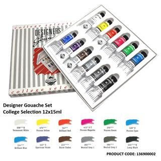 Designers Gouache set College 12x15 ml