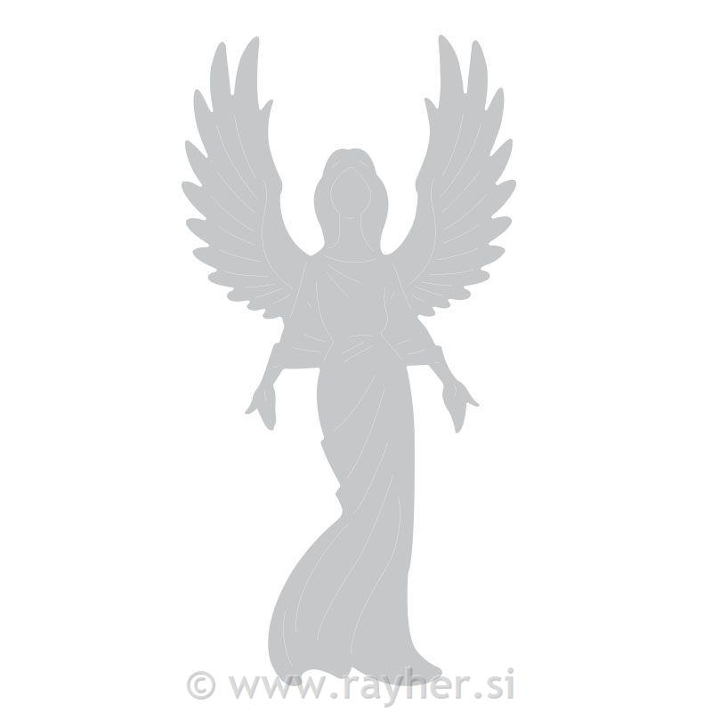 Sizzix Thinlits, Angel by Pete Hughes