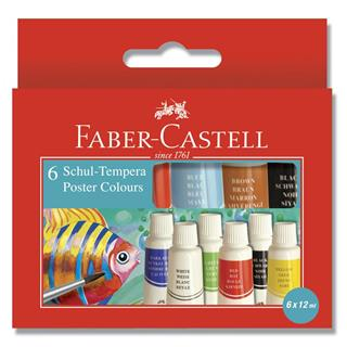 Tempere Faber Castell 6/1 12ml