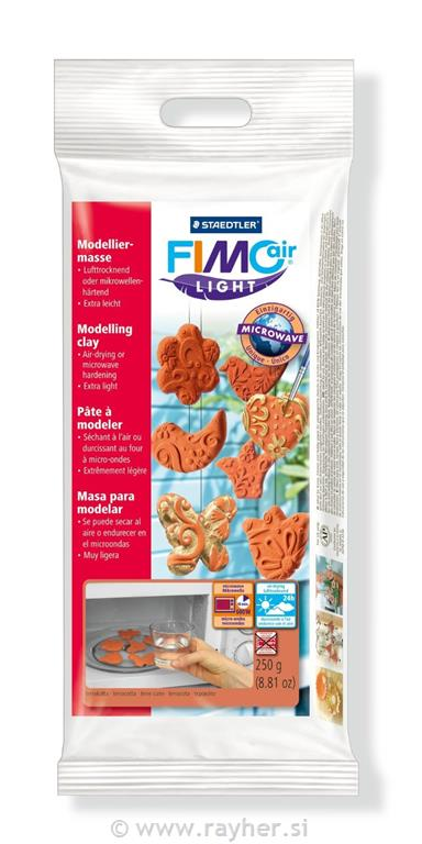 FIMOair light masa 250g terakota