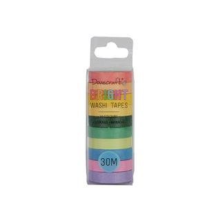 Washi Tape, set 10, Brights
